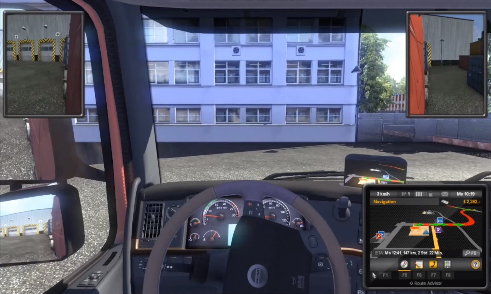 Screenshot 1 - Euro Truck Simulator 2
