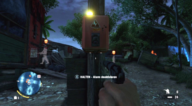 Actionspiel Far Cry 3: Alarm © Ubisoft