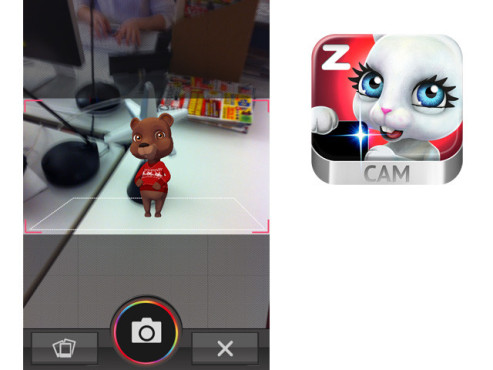 Zoobe Cam – say it with character ©zoobe GmbH