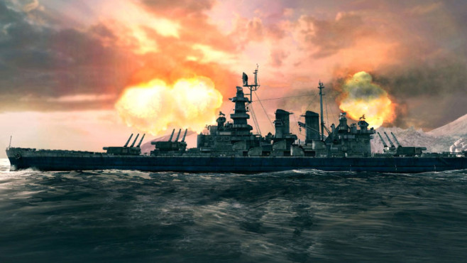Actionspiel World of Warships: Explosion © Wargaming.net