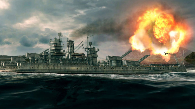 Actionspiel World of Warships: Himmel © Wargaming.net
