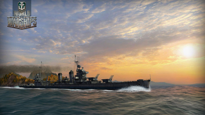 Actionspiel World of Warships: Sonne © Wargaming.net