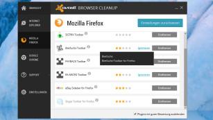 Avast Browser Cleanup Screenshot©COMPUTER BILD