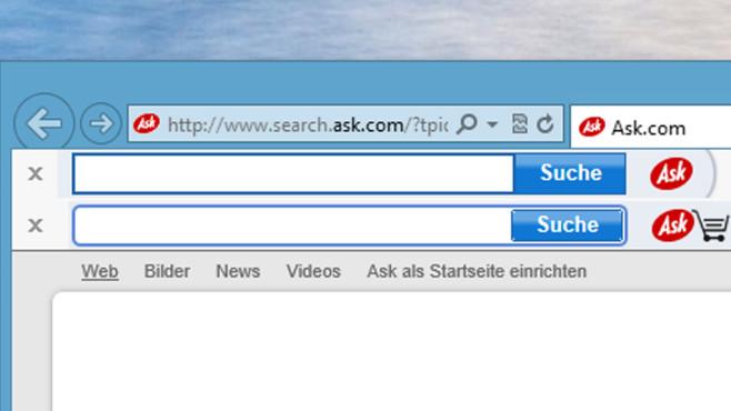 Toolbar Screenshot©COMPUTER BILD