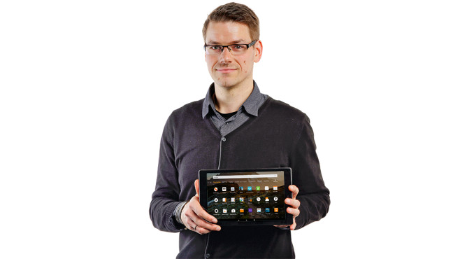 Amazon Fire HD 10 (2019) © COMPUTER BILD
