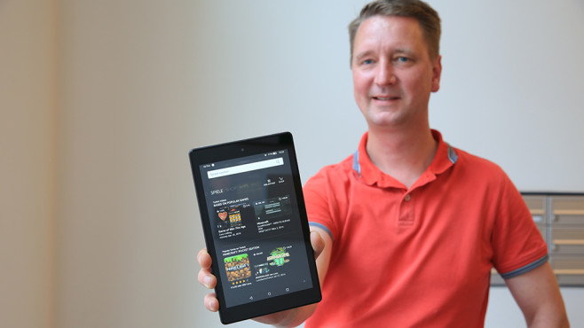 Amazon Fire HD 8 (2017) © COMPUTER BILD