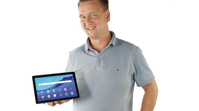 Huawei MediaPad M5 Lite 10 ©COMPUTER BILD