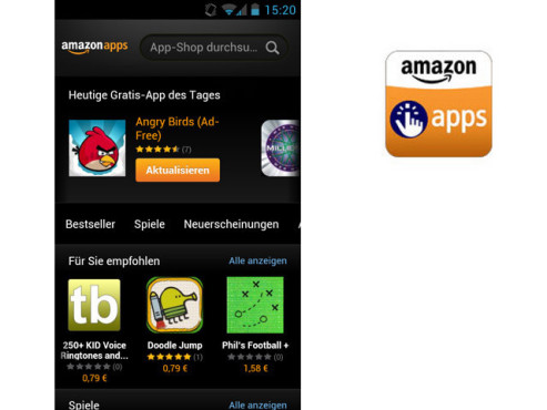 Amazon App-Shop ©Amazon