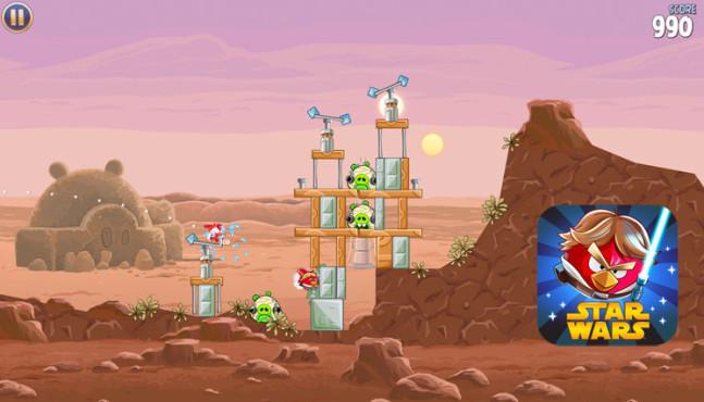 Angry Birds Star Wars ©Rovio Entertainment