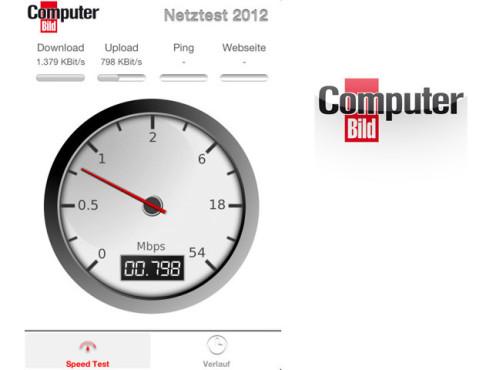COMPUTER BILD Netztest 2012 ©RadioOpt GmbH