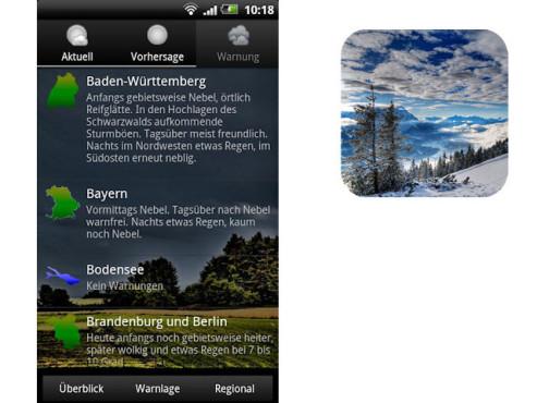 Das Wetter in Deutschland ©surfcheck.info