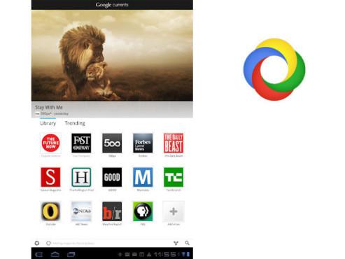 Google Currents ©Google Inc.