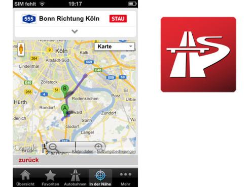 Stau Mobil ©Netbiscuits GmbH