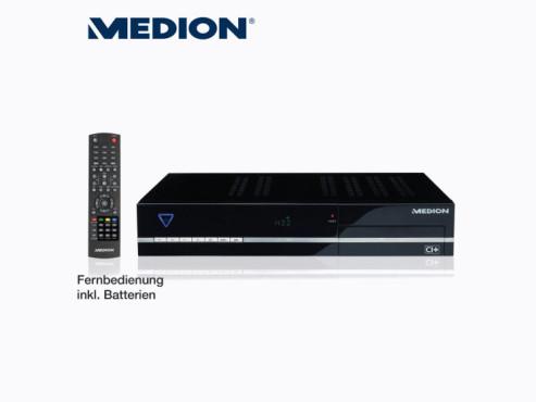 Medion Life P24018 (MD 28005) Digitaler Sat-Receiver, erhältlich bei Aldi Nord ©Aldi