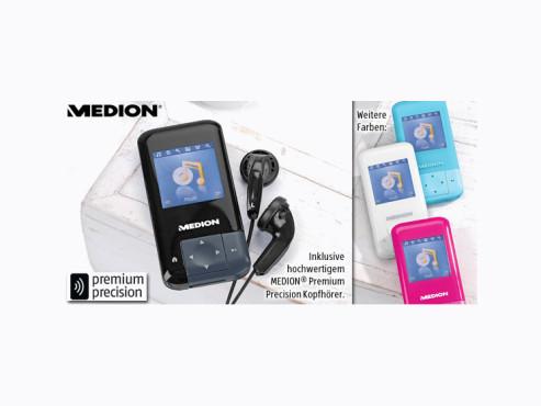 Medion Life P60011 Design MP3-Player ©Aldi