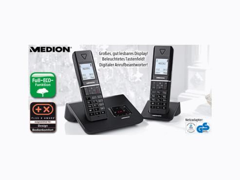 Medion P63021 DECT-Telefon, erhältlich bei Aldi Süd ©Aldi