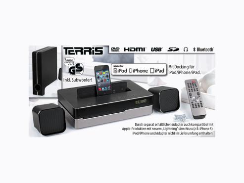Terris DVD-Mikroanlage 2.1, erhältlich bei Aldi Süd ©Aldi