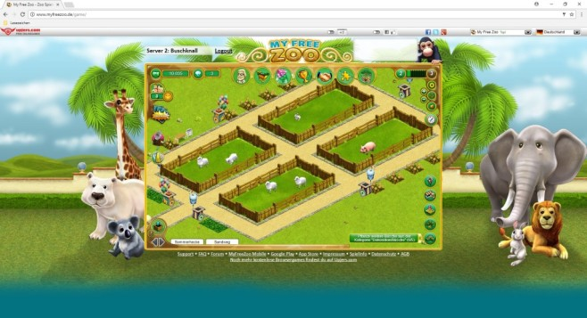 My Free Zoo ©Upjers