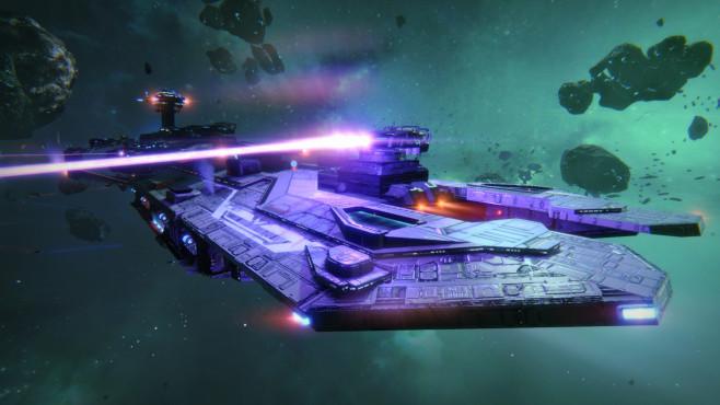Star Conflict: Feuer ©Gaijin Entertainment