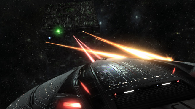 Star Trek Online: Borg-Kubus ©Perfect World Entertainment