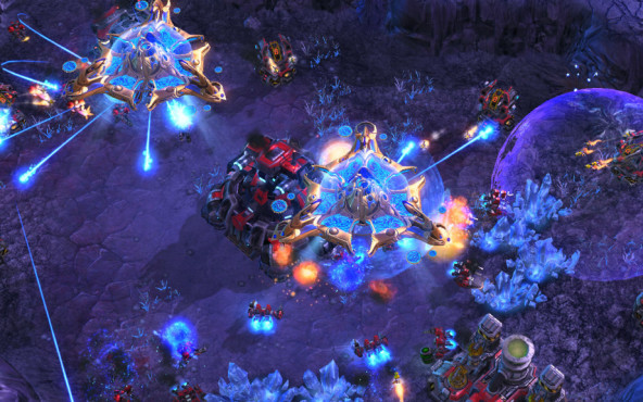 StarCraft 2: Wings of Liberty ©Blizzard