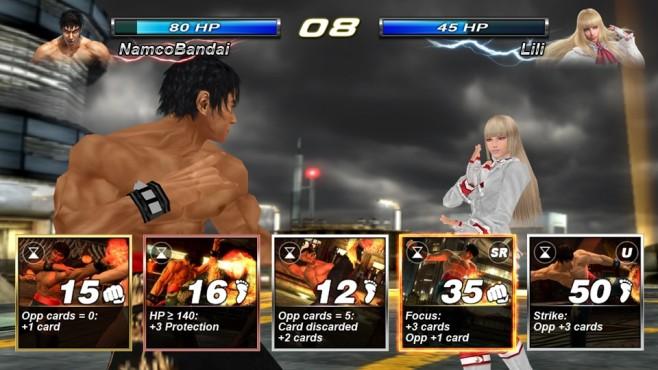 Tekken Card Tournament ©Bandai Namco