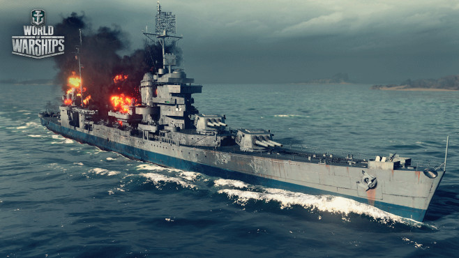 World of Warships: New Orleans ©Wargaming.net