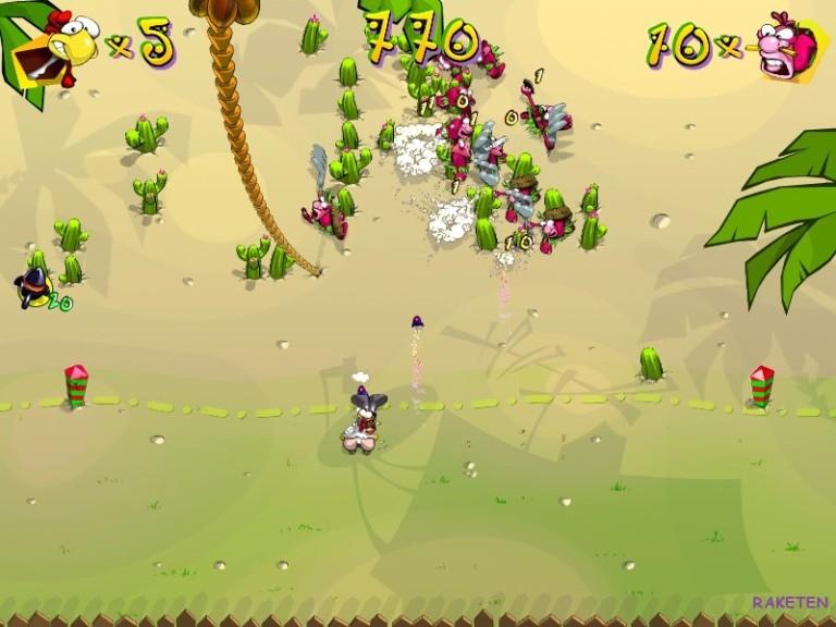 Screenshot 1 - Hühner-Rache – Kostenlose Vollversion