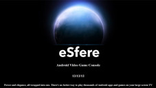 Android-konsole Esfere: Webseite © Esfere Entertainment