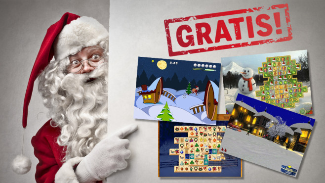 Bescherung: Weihnachtliche Gratis-Games Mit den weihnachtlichen Gratis-Games aus dem Download-Bereich zelebrieren Sie die festliche Zeit spielerisch.©Gekko Software, 3Dsoftart Game Design, Claudius Bartmuß, MyPlayCity.com