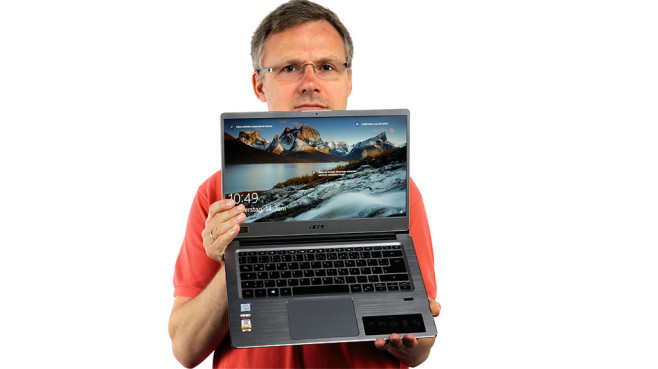 Acer Swift 3 (SF314-54) © COMPUTER BILD