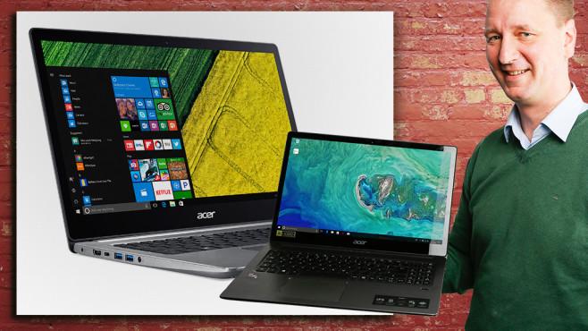 Acer Swift 3 (SF315-41-R4W1) ©COMPUTER BILD, ©istock.com/keport