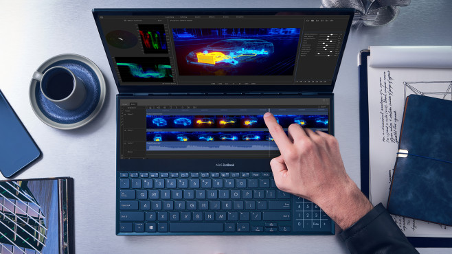 Asus ZenBook Pro Duo 15 (UX581) ©Asus