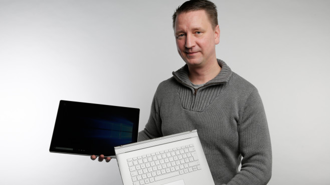 Microsoft Surface Book 2 15 © COMPUTER BILD