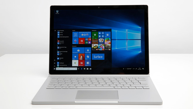 Microsoft Surface Book 2 © COMPUTER BILD