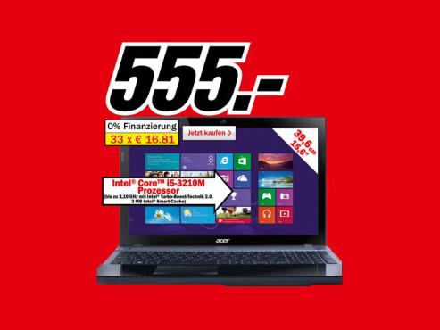 Acer Aspire V3-571G ©Media Markt