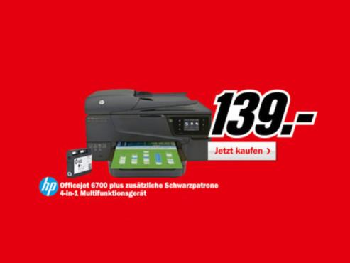 Hewlett-Packard HP Officejet 6700 ©Media Markt