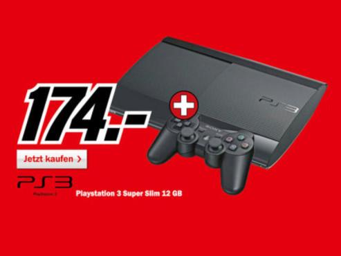 Sony Playstation 3 (PS3) Super slim ©Media Markt