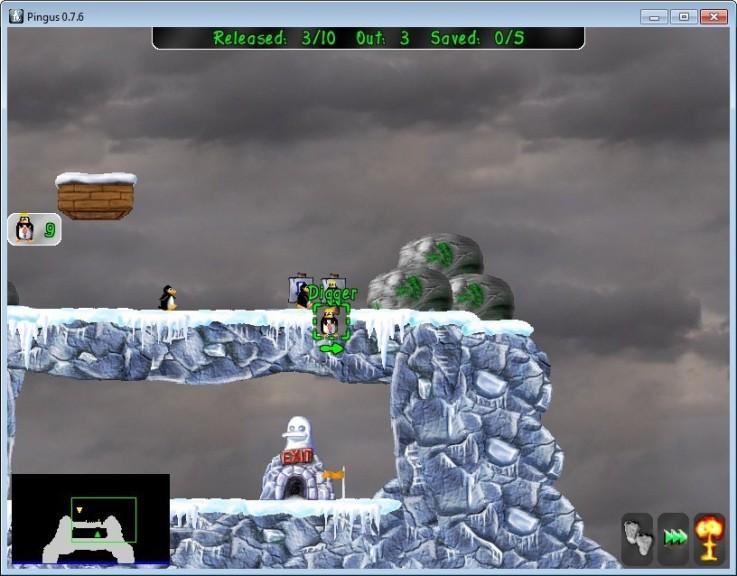 Screenshot 1 - Pingus Portable