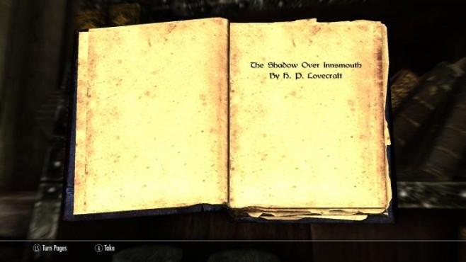 Rollenspiel The Elder Scrolls 5 – Skyrim: Buch ©Bethesda