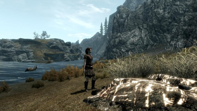 Rollenspiel The Elder Scrolls 5 – Skyrim: Glowing Ore ©Bethesda Softworks