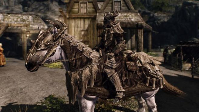 Rollenspiel The Elder Scrolls 5 – Skyrim: Pferd ©Bethesda