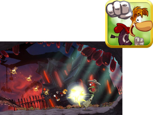 Rayman Jungle Run ©Ubisoft Entertainment