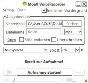 Moo0 VoiceRecorder