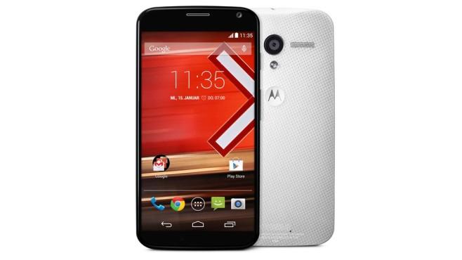 Motorola Moto X©Google