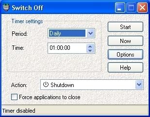Screenshot 1 - Switch Off