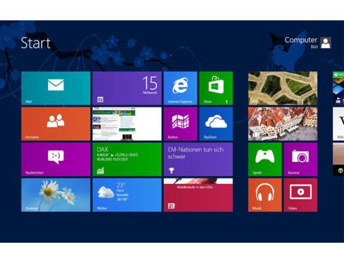 Windows 8 ©COMPUTER BILD