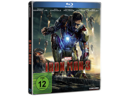Iron Man 3 (Steelbook) (Blu-ray) ©Amazon