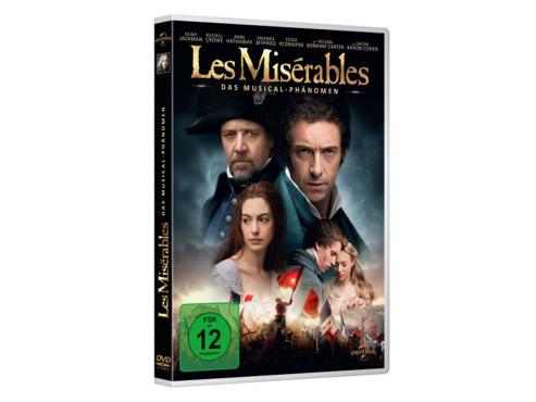 Les Misérables (DVD) ©Amazon