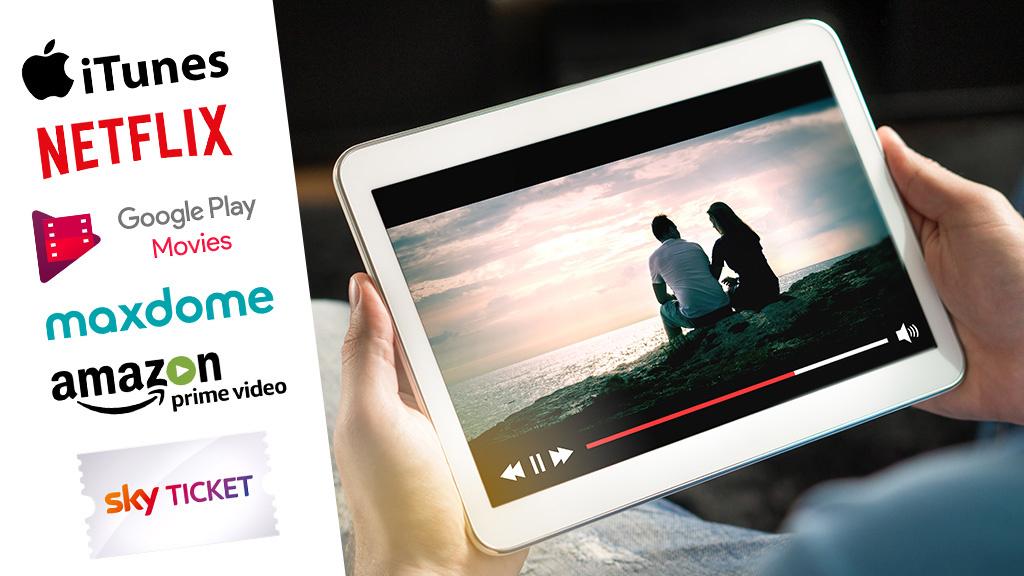 streaming test netflix amazon co auf dem pr fstand audio video foto bild. Black Bedroom Furniture Sets. Home Design Ideas